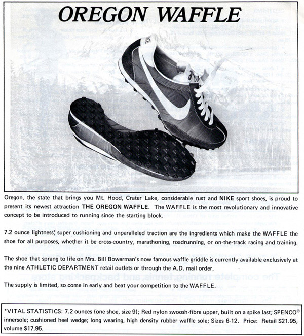First Nike Shoes Made With Waffle Iron